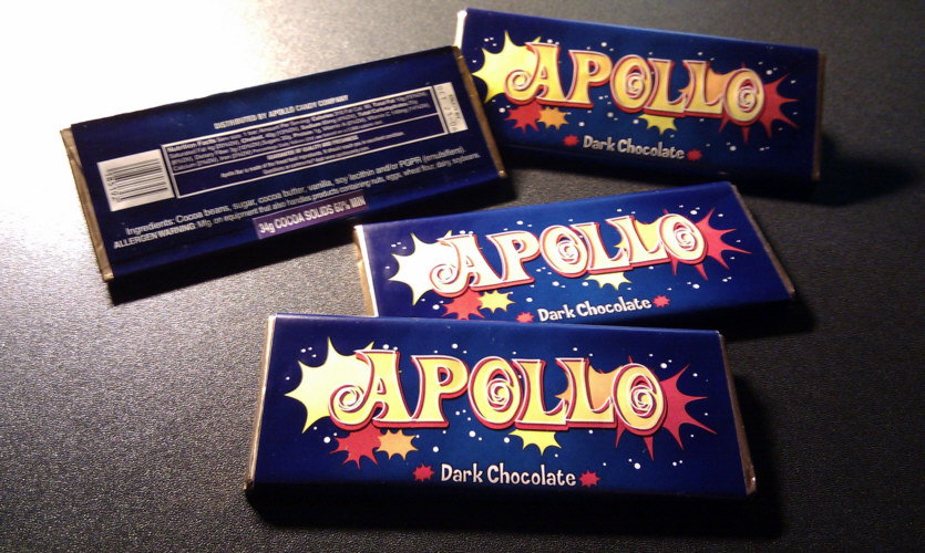 During The Lost Experience Alternate Reality Arg 2006 2007 Real Apollo Bars Were Manufactured Advertised And Distributed Amongst Fans