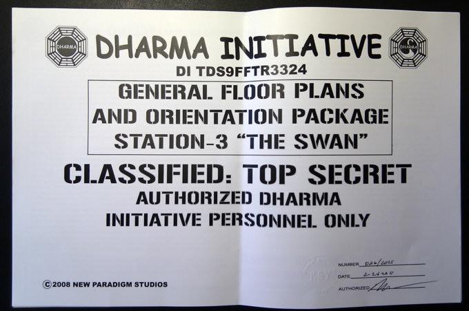 Dharma Intiative Swan Station General