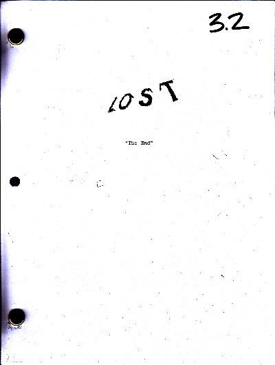 LOST Script S6E17 - The End - lostified com - LOST Show Autographs